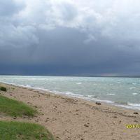 Непогода на озере., Самагалтай
