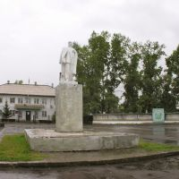 Monument to Lenin in Turan, Туран