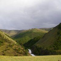 В ущелье р. Арзайты, Тээли