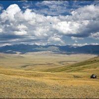 Вниз с перевала 2389 м, Тээли
