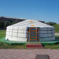Traditional Tuvan yurt private museum, Хову-Аксы