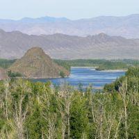 View to Yenisei River, Хову-Аксы