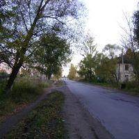 слева были двухэтажки и бараки.  сентябрь 2009, Агеево