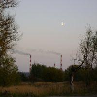 Черепетская ГРЭС. сентябрь 2009, Агеево