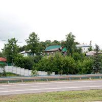 Алексин, домики у реки, Алексин