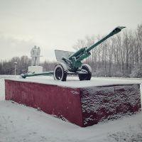 Пушка рядом с Курганом славы, Арсеньево