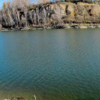 Барсуки: пруд .осенью хорош!и летом уже почище..., Барсуки