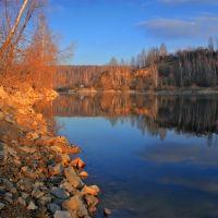 Зона отдыха Барсуки осенью, Барсуки
