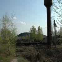 Водонапорная башня у шахты, Богородицк