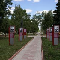 Central Square, Heroes of WWII, Венев