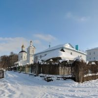 Богородицерождественский монастырь. Церковь Рождества Пресвятой Богородицы, Горелки
