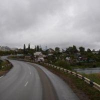 Въезд в Ефремов и река Красивая Меча