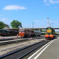 Железнодорожный вокзал станции Ефремов, Ефремов
