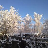 Кимовск. Старый забор., Кимовск