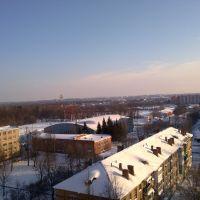 ледовый дворец в парке, Новомосковск