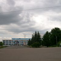 Площадь у дворца культуры, Новомосковск