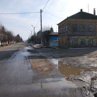 Одоев. Уличный вид в конце февраля., Одоев