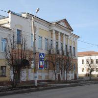 Старинные купеческие дома на главной улице Одоева., Одоев