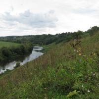 Вид с Соборной горы, Одоев