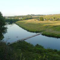 Пешеходный мост через р.Плава, Плавск