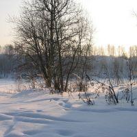 """Пляж """"Горный"""" зима 2006, Суворов"""