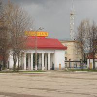 Gate of stadium. Ворота стадиона, Тула