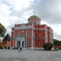 Bogojavlensky a cathedral. Богоявленский собор., Тула