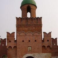 Въездная башня тульского Кремля, Тула