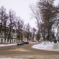 Перекрёсток улиц Ленина и Толстого, Щекино
