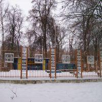 """""""Клетка"""" в парке, Щекино"""