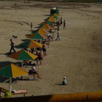 Пляж на гидронамыве (общий план), Когалым