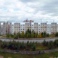 Панорама ул.Прибалтийской со здания ПУ, Когалым