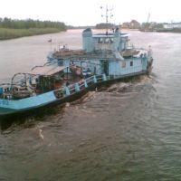 Буксир БТК-612 на р. Казым 2005г., Белоярский