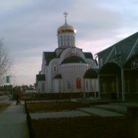 Церковь возле рынка г. Белоярский, Белоярский