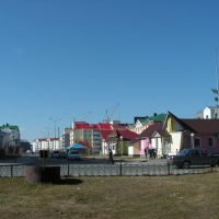 Вид на 6-й микрорайон, Белоярский