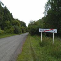 Выезд из с. Шевырино в направлении Абатска, Абатский