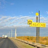 на подъезд к селу Абатское, Абатский