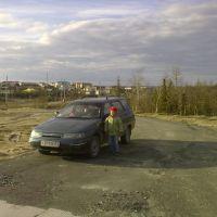 верталетная площадка,2010, Аксарка