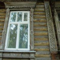 наличники на окне, Большое Сорокино