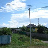 Сверток на тропинку через огород, Большое Сорокино