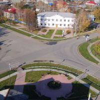 Центральная площадь, Вагай