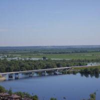 Вид с мачты на северо-восток, Вагай