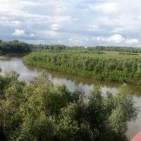 Ишим с моста, Викулово