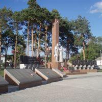 Памятник павшим у жд вокзала, Заводоуковск