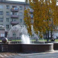 Фонтан в центр. сквере, Заводоуковск