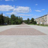 Заводоуковск, центральная площадь. Zavodoukovsk, central square, Заводоуковск