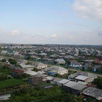 Вид с башни сотового оператора, Исетское