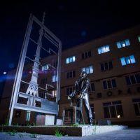 Monument to Nikolai Nikitin, Ишим
