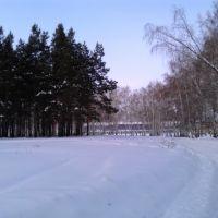 Лесная дорога к спорткомплексу, Казанское