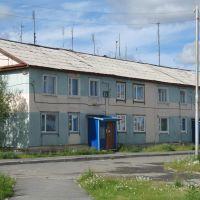 ул. Дзержинского д.8 (вид со двора), Лабытнанги